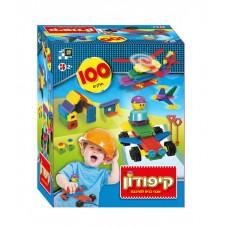 קיפודון - קופסה 100 חלקים