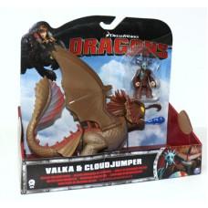 דרקון + דמות רוכב דלוקס