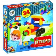 קיפודון - קופסה 34 חלקים